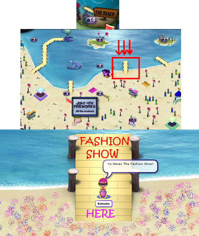 Fashion SHow place
